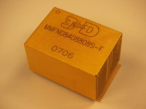 3D Plus' Hardened and Space Qualified 32 gigabyte NAND Flash module used in Orion's data recorder